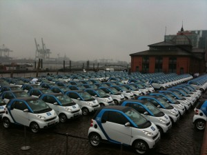 car2go Hamburg Flotte